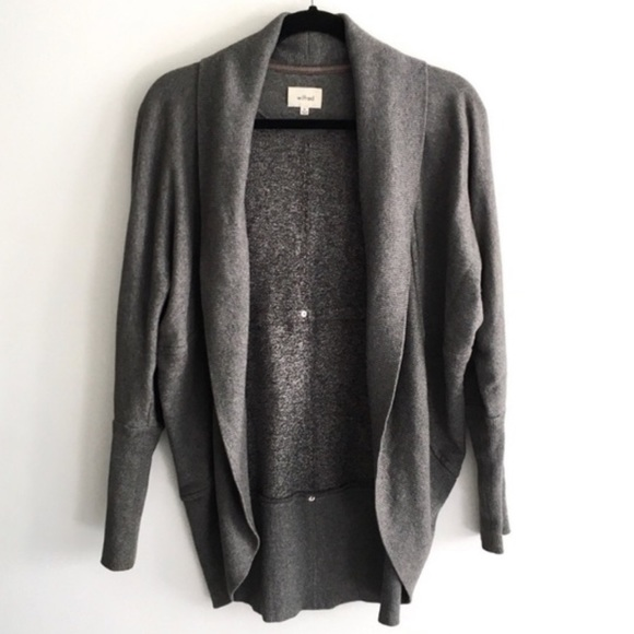 WILFRED GREY DIDEROT SWEATER!